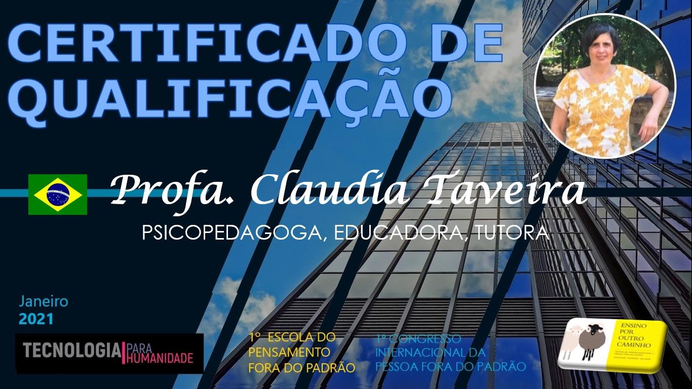CLAUDIA TAVEIRA