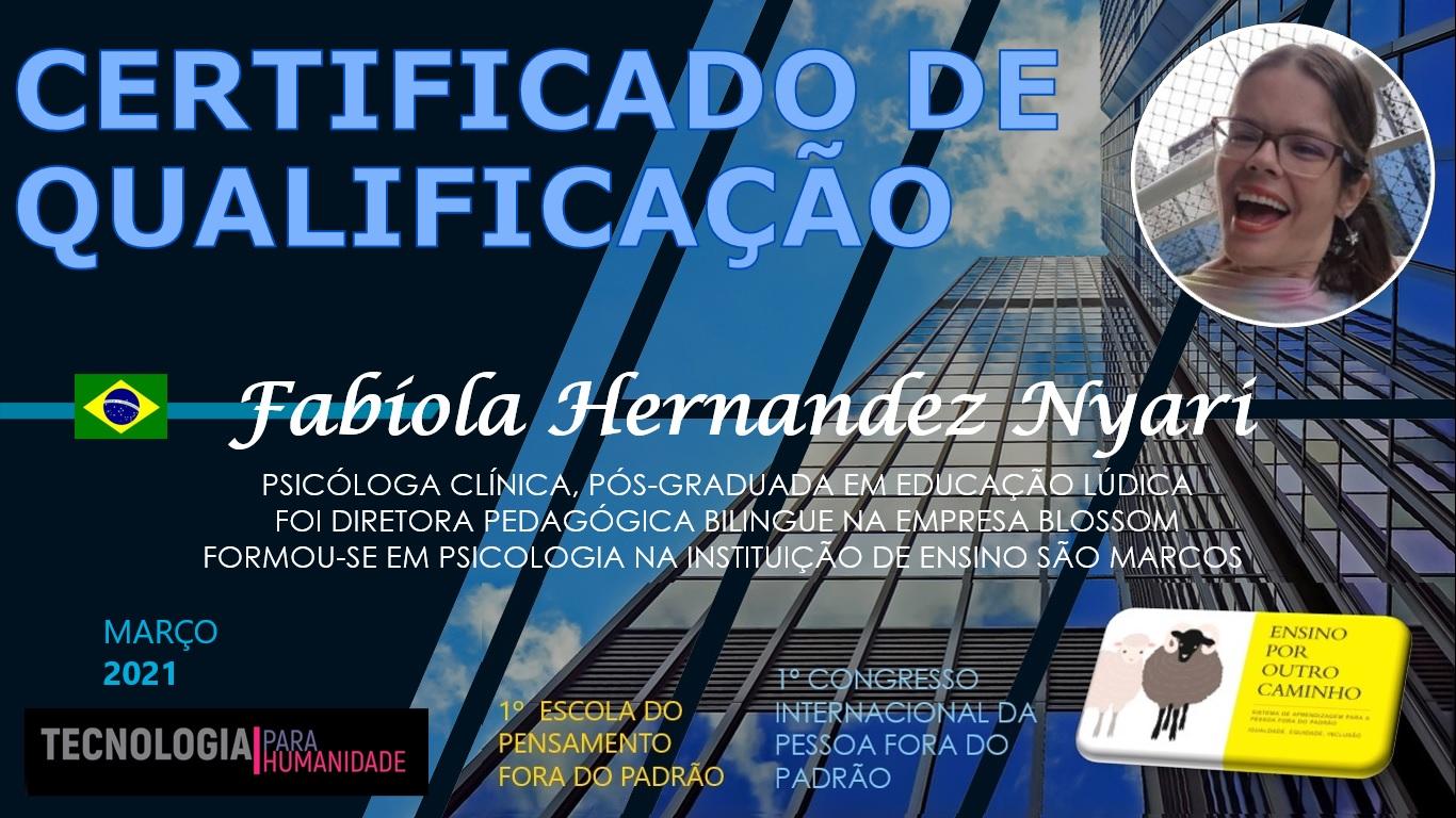 FABÍOLA HERNANDEZ NYARI